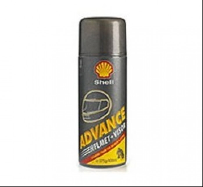 shell advance helmet visor 300ml
