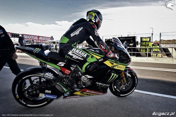 MotoGP Walencja 2017 5 Monster Tech3 Yamaha Johann Zarco 55