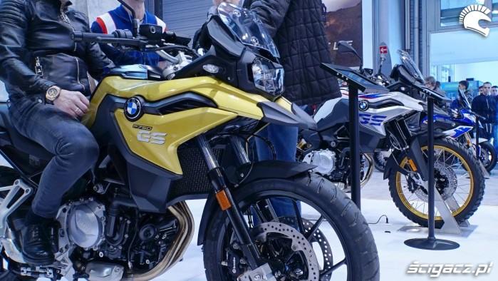 bmw f750gs vs f850gs poznan motor Show 2018