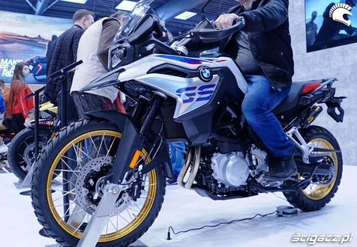 bmw gs 850 poznan motor show 2018