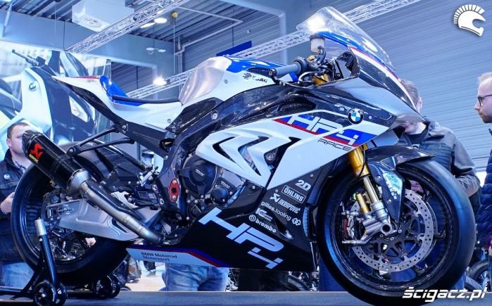 bmw hp4 race poznan motor show 2018