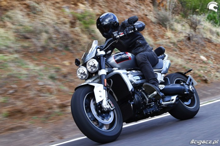 011 triumph rocket 3 test gt