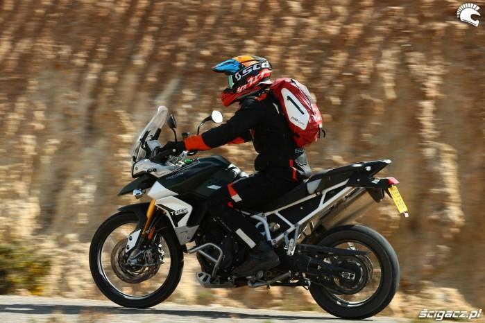012 tiger 900 jazda testowa