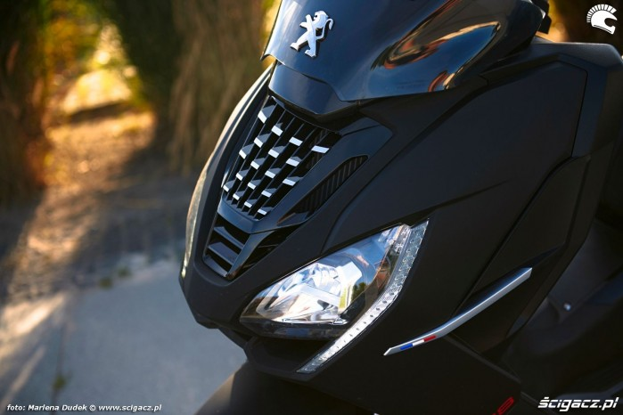 Peugeot Pulsion 125 03 grill