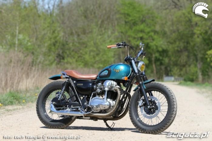 07 Kawasaki W 650 Flying Duxe custom bobber