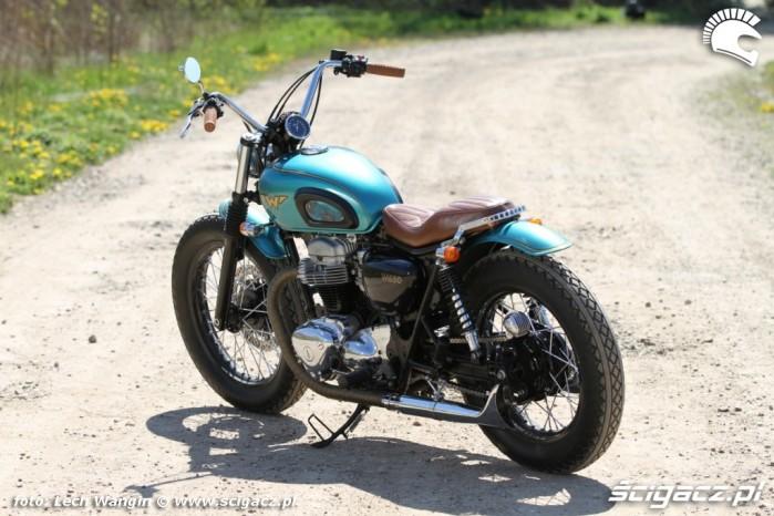 10 Kawasaki W 650 Flying Duxe custom bob