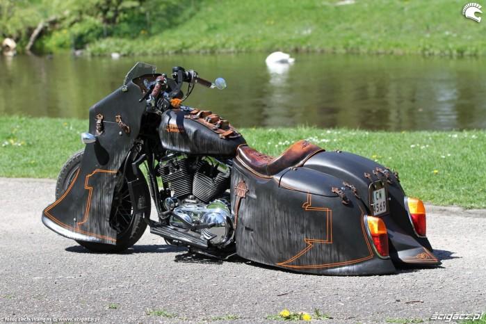 21 Harley Davidson Sportster custom bagger