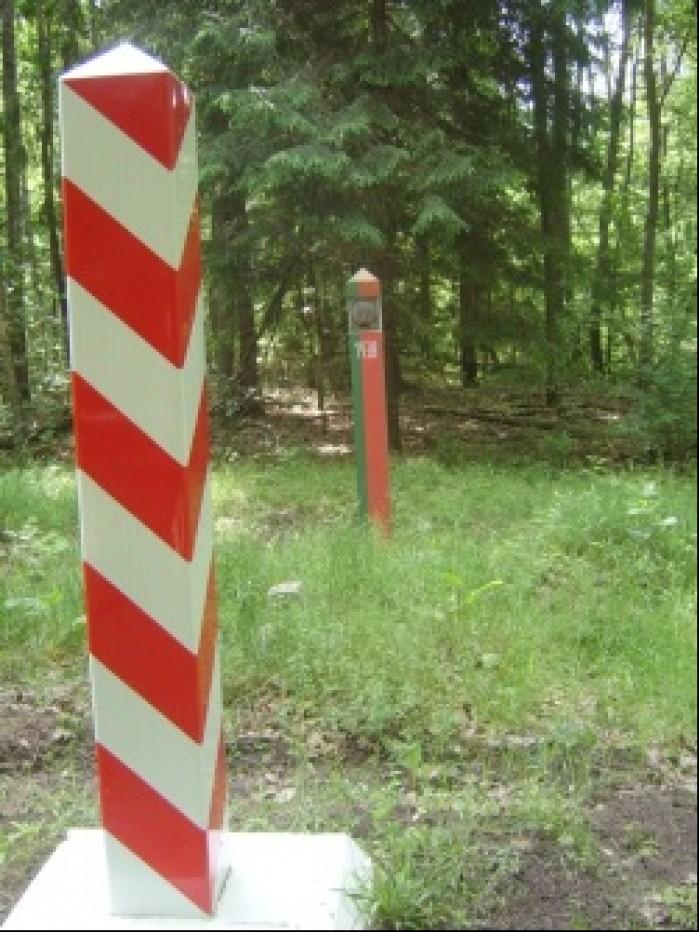 Granica Polski z Bialorusia