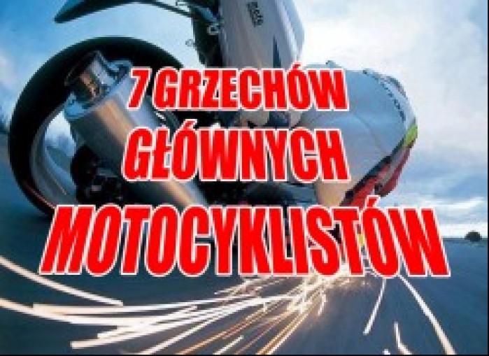 7 grzechow glownych motocyklisty