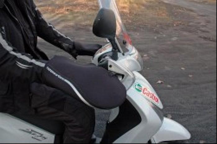 Mufki sprawdzaja sie na motocyklach i skuterach