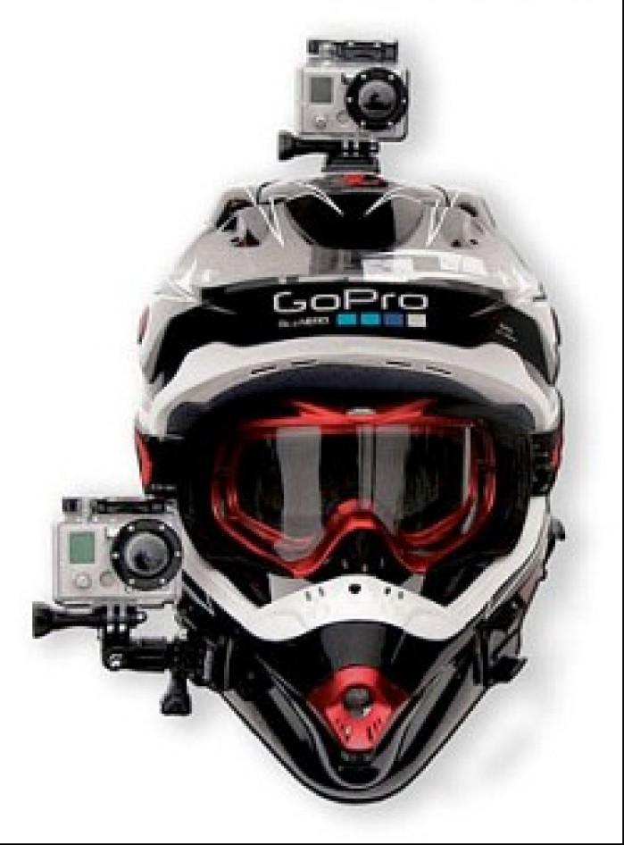 Kamery na kasku