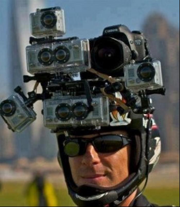 kamery na kasku kleska urodzaju