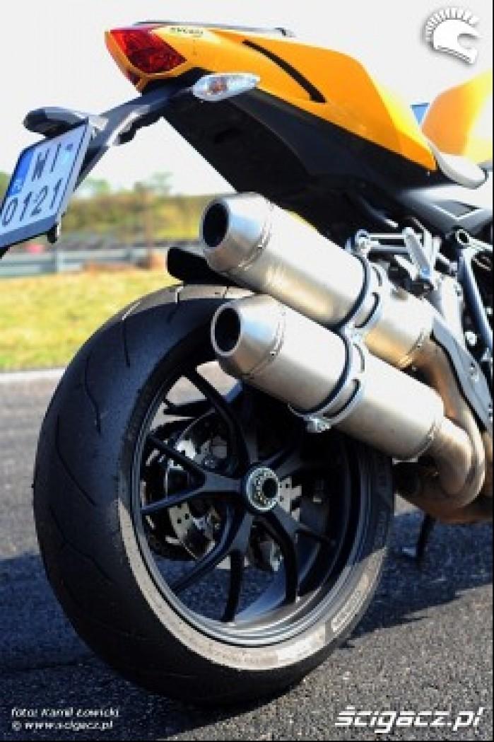 Wydechy i tyl Ducati Streetfighter 848