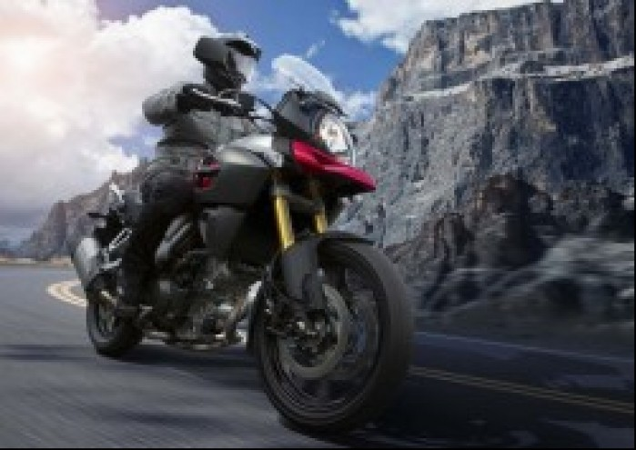 Suzuki V Strom 1000 w gorach