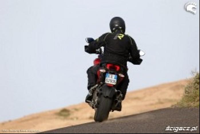 Ducati Multistrada 1200 gorsze asfalty