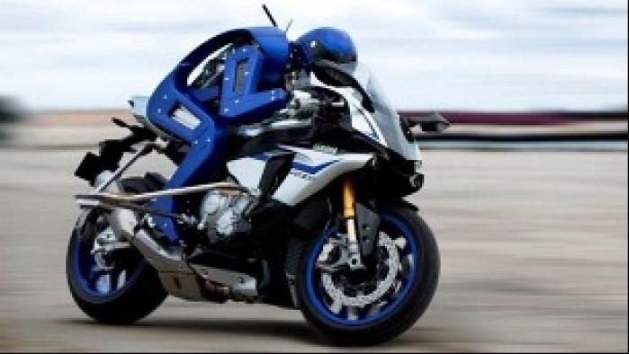 Yamaha Motobot elektronika jazda