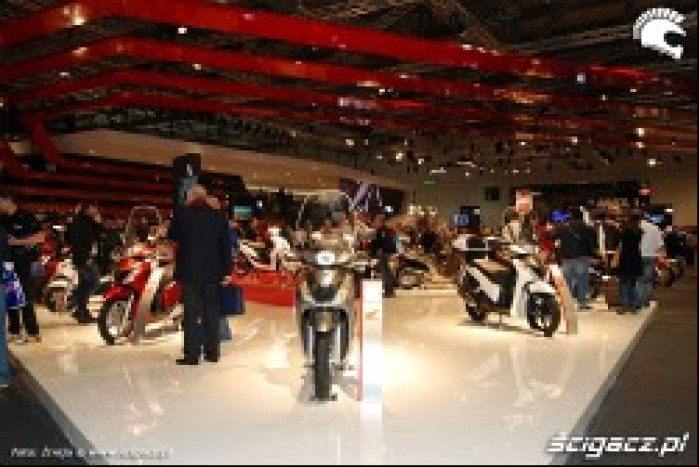 Honda stoisko targi