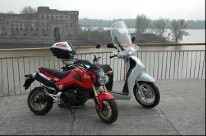 skuter vs motocykl 125
