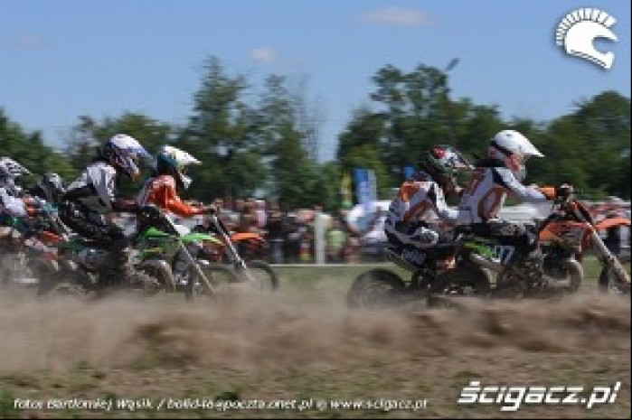 mx 65 start strykow motocross 2010 mistrzostwa polski
