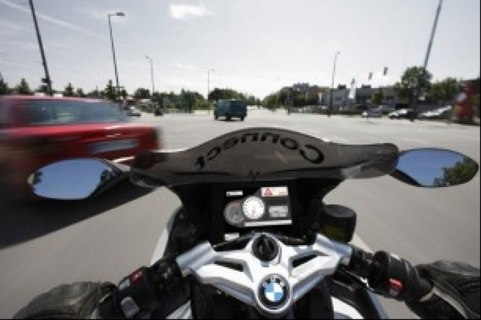 bmw connected Ride zegary