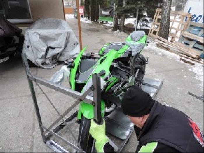 Kawasaki ZX 10R 2016 demontaz skrzyni