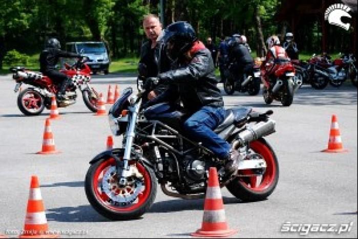 Szkolenie motocyklistow CSP Legionowo