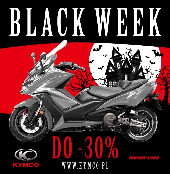 Kymco AK 550 Black Week 2018
