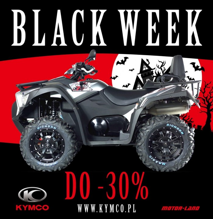 Kymco MXU 700i IRS EPS Black Week 2018