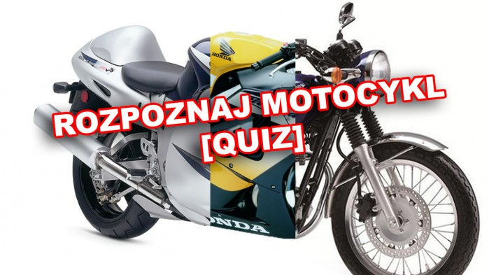 rozpoznaj motocykl quiz