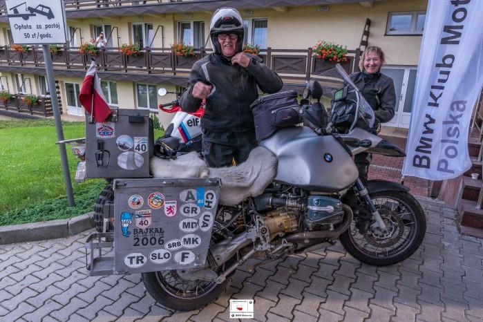 BMW KMP 2018 XVIII Miedzynarodowy Zlot Motocykli BMW Wisla 09