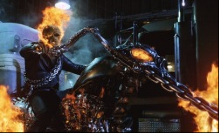 ghostrider motocyklista