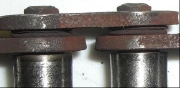 Zniszczone o-ringi oznaczaja koniec dla lancucha