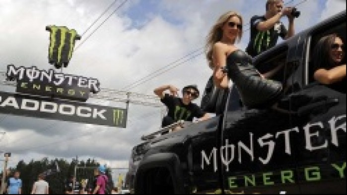 pickup monster energy