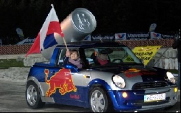 red bull samochod
