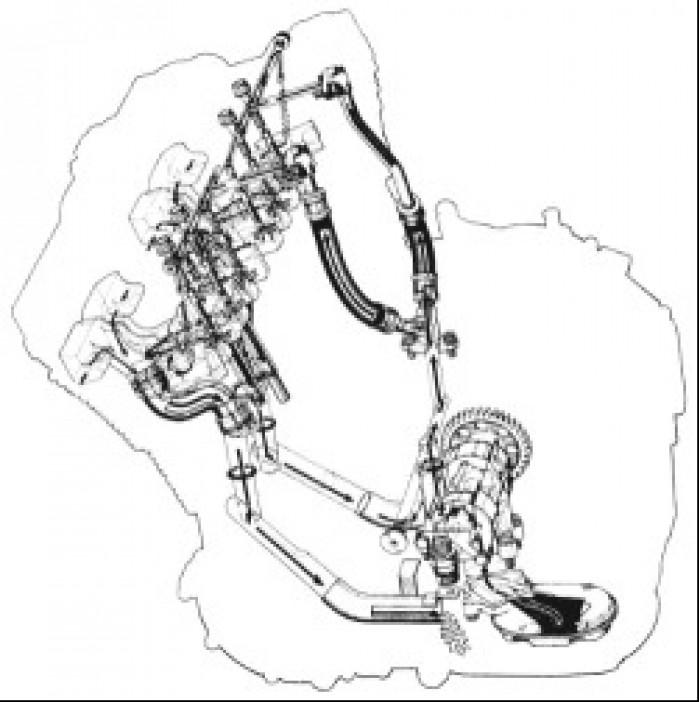 Uklad smarowania z mokra misa olejowa w Suzuki GSX-R750