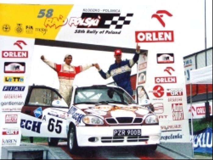 Grzegorz Grygiel rajd samochodowy