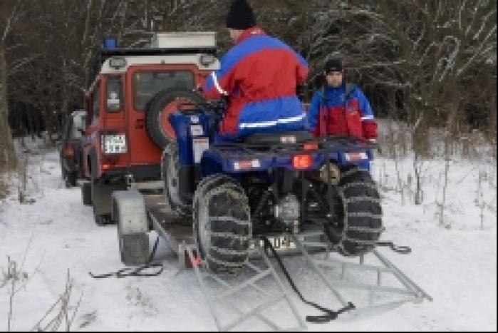 Ratownicy medyczni GOPR akcja ratunkowa quad