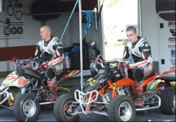 Sobczyk Quad Racing Team I runda Mistrzostw Szwajcarii Supermoto Quadow