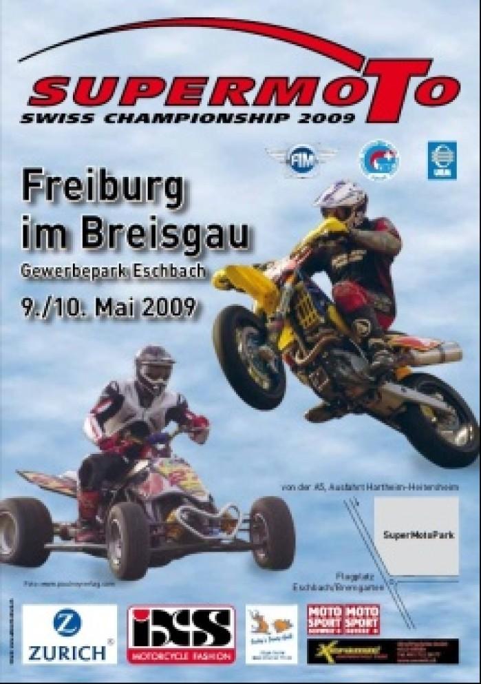 Mistrzostwa Szwajcarii Supermoto Quadow i runda plakat