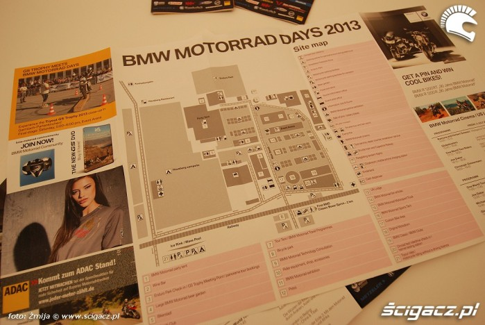 Plan imprezy BMW Motorrad