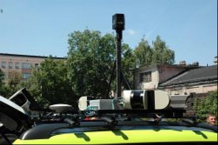 Kamery i laserowe skanery