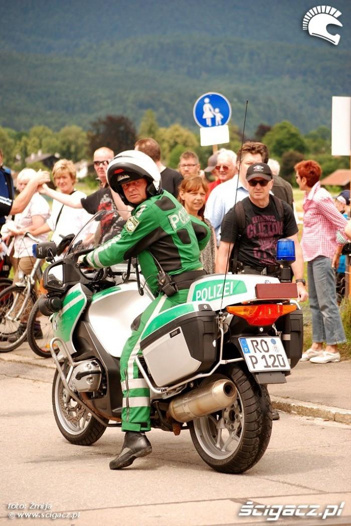 Motocykl policyjny Niemcy