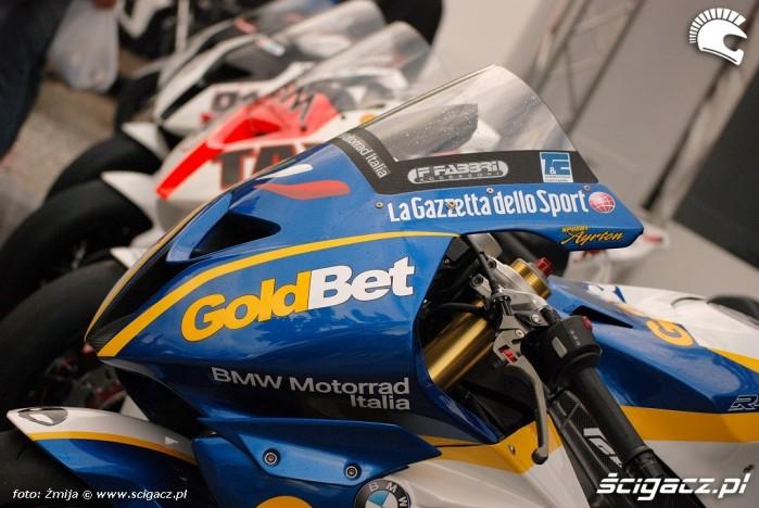 Motocykle wyscigowe BMW