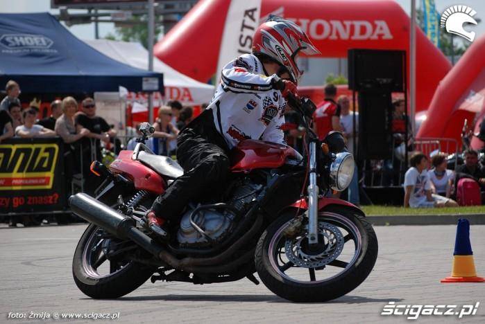 Jazda Honda Gymkhana