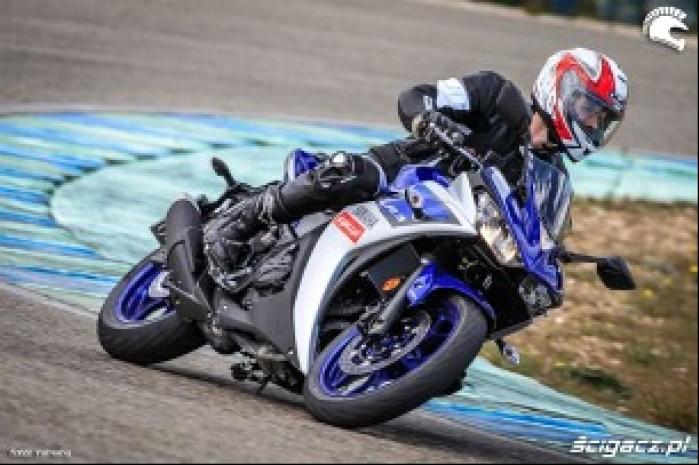 Yamaha YZF R3 zlozenie tor Calafat
