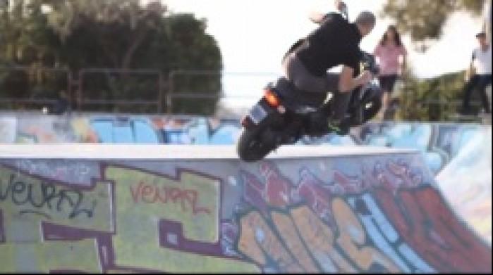 skate park skuter yamaha