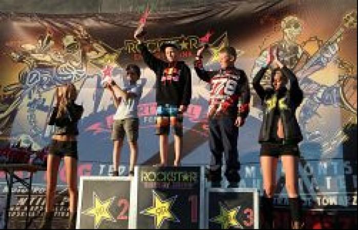 Rockstar Mad Skillz Festival podium strefa polnocna