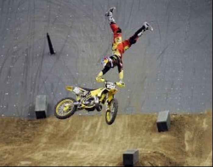 Travis Pastrana trick