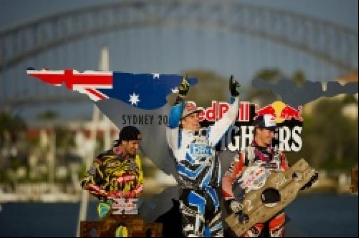 podium rundy w australii