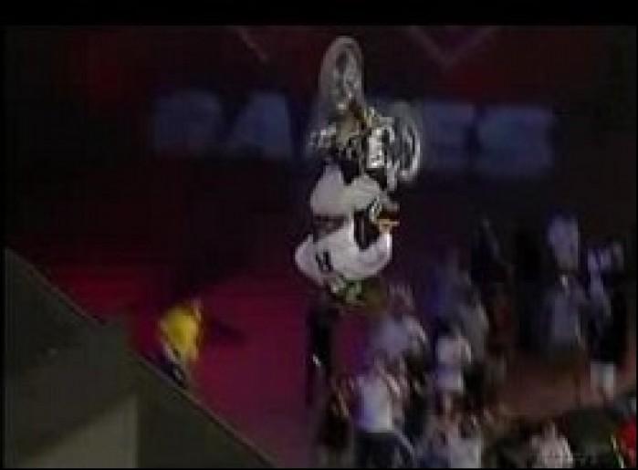 Podwojny backflip Scotta Murraya